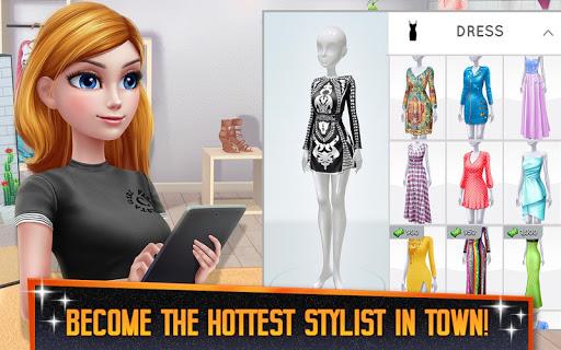 Super Stylist - Dress Up & Style Fashion Guru modiapk screenshots 1