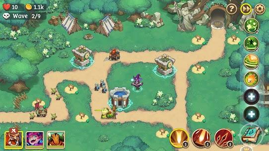 Empire Defender Strategy TD Offline Game Fantasy Apk Mod Download 5