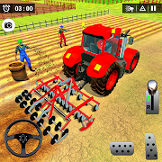 Real Tractor Driving Simulator: New Farming Games