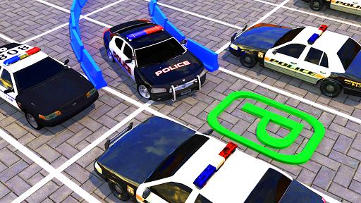Modern Police Car Parking : Real Car Parking 3D  screenshots 3