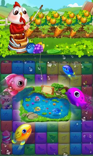 Fruit Funny Blocks apkslow screenshots 4