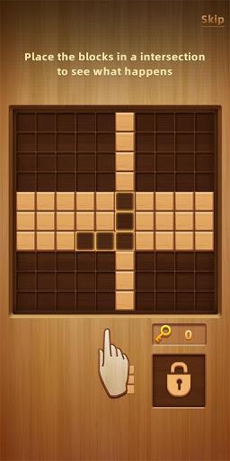 Wood Block Puzzle - New Block Puzzle Blast Game  screenshots 2