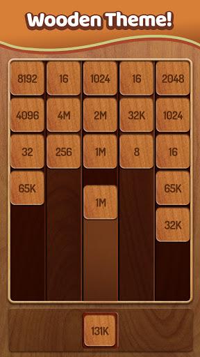Merge Numbers - 2048 Blocks Puzzle Game apktreat screenshots 2