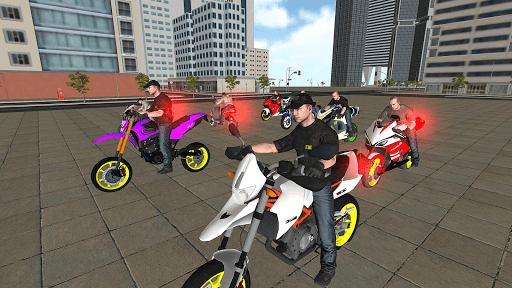 Bike Driving Simulator: Police Chase & Escape Game 1.07 screenshots 1