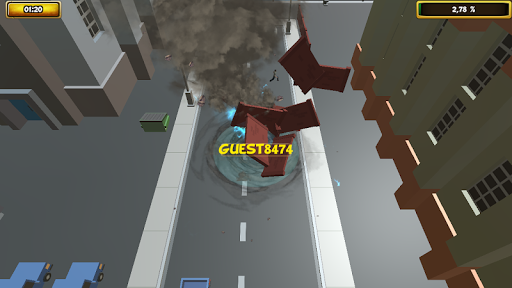 City Tornado Amazing City Storm  screenshots 4