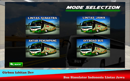 Bus Simulator Indonesia - Lintas Jawa 1.6 screenshots 8