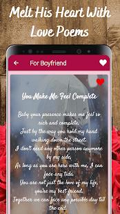 Love Poems For Him, Her, Boyfriend & Girlfriend