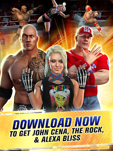 WWE Champions 2021 Mod Apk (High Damage/No Skill CD) 10