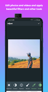 InPics Shot - Best Photo, Selfie & Video Editor Screenshot