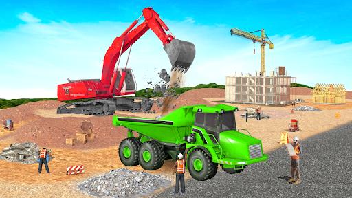 Heavy Excavator Crane Sim Game 2.2 screenshots 13