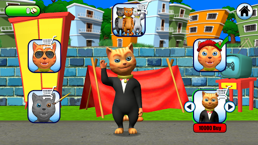 Talking Cat Leo: Virtual Pet 15 screenshots 3