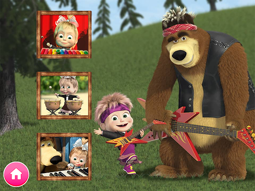 Masha and the Bear. Educational Games 6.2 screenshots 2