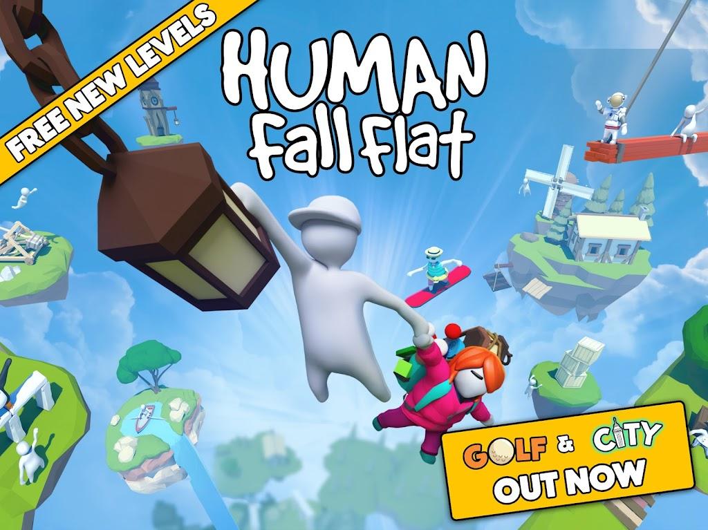 Human: Fall Flat  poster 8