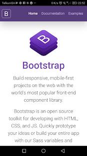 Bootstrap 4 0.1.4 Screenshots 1