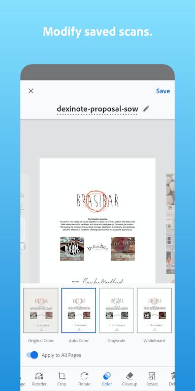 Adobe Scan: PDF Scanner with OCR, PDF Creator  poster 5