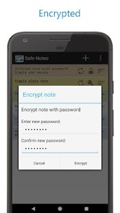 Safe Notes - Secure Ad-free notepad Screenshot