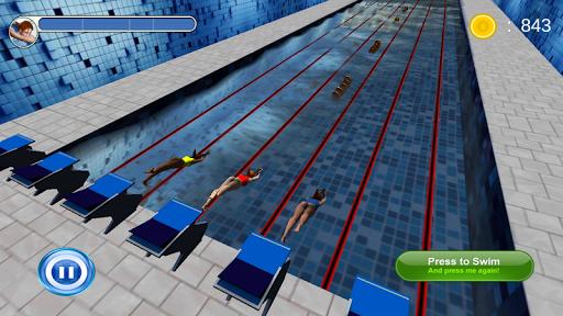 Swimming Race 3D screenshots 4