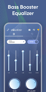 Equalizer, Bass Booster, Sound Booster