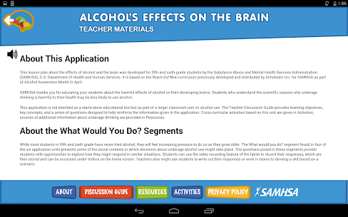 Alcohol's Effects on the Brain 5