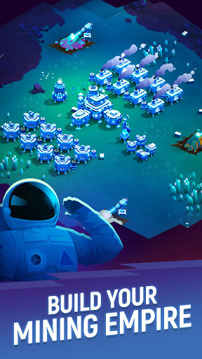 Code Triche ExoMiner Tycoon: Idle Space Miner (Astuce) APK MOD screenshots 5