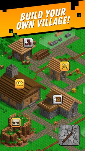 Minetap: Epic Clicker! Tap Crafting & mine heroes screenshots 3