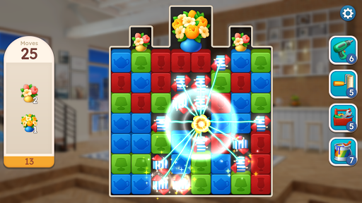 Sweet Home : Design & Blast apkpoly screenshots 6