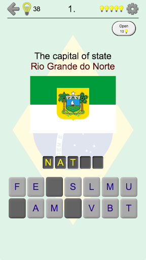 Brazilian States - Quiz about Flags and Capitals For PC Windows (7, 8, 10, 10X) & Mac Computer Image Number- 9