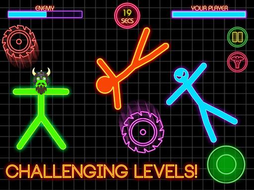 Stickman Fighting: 2 Player Funny Physics Games  screenshots 14