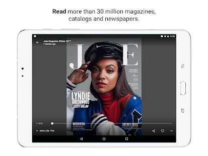 "Issuu - ""Create & Discover Stories"" Screenshot"