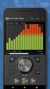 Dub Music Player - Free Audio Player, Equalizer ud83cudfa7 5.2 Screenshots 1