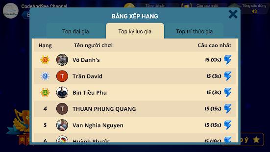 Di Tim Trieu Phu 2020:u00a0u0110u1ecdc cu00e2u hu1ecfi vu00e0 4 phu01b0u01a1ng u00e1n 2.2.0 Screenshots 7