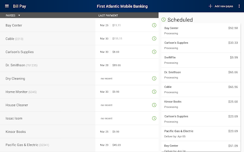 First Atlantic Mobile Banking