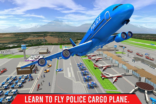 Police Elephant Robot Game: Police Transport Games 1.0.9 Screenshots 4