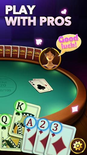 Gin Rummy - Free Gin Rummy Card Game Plus Offline apkpoly screenshots 2