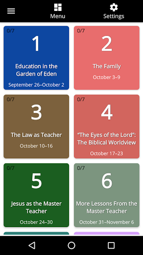 Sabbath School 24/7 android2mod screenshots 2