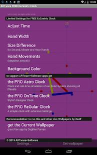 ExZentric Clock Live Wallpaper