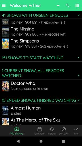 TV Show & Movie Tracker - Trakt client 290 screenshots 8