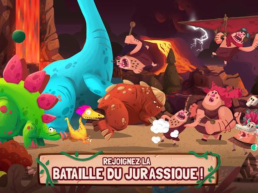 Dino Bash - Dinosaure tower defense TD APK MOD (Astuce) screenshots 5