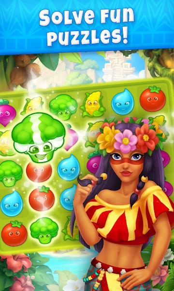 Jungle Mix Match Three: New Jewel in Match-3 Games