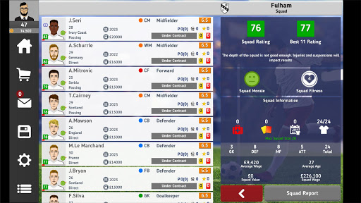 Club Soccer Director 2021 - Soccer Club Manager 1.5.4 Screenshots 10