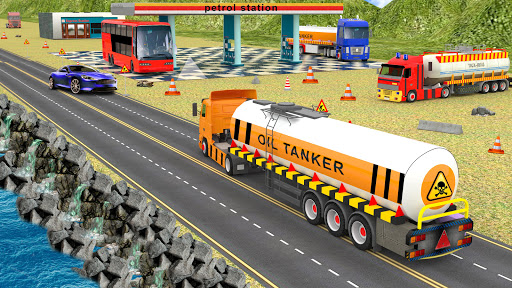Indian Oil Tanker Cargo Truck Game apkpoly screenshots 5
