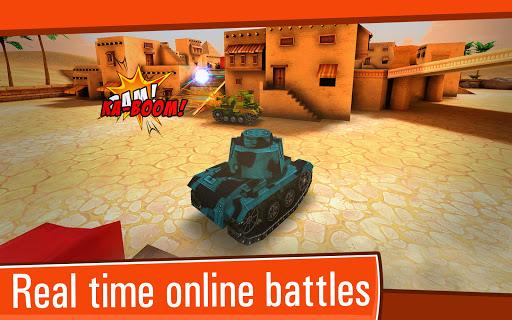 Toon Wars: Awesome PvP Tank Games  screenshots 2