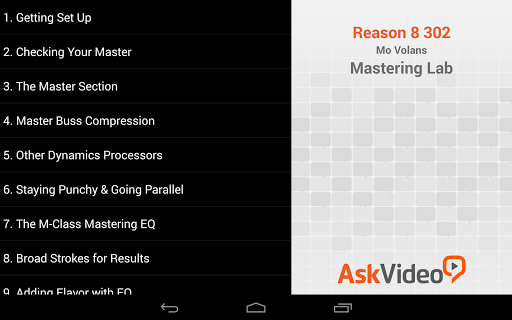 Mastering Lab For Reason For PC Windows (7, 8, 10, 10X) & Mac Computer Image Number- 7