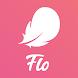 Flo(フロー)月経管理アプリ、月経や排卵日予測サイクルを予測。妊活避妊、体調管理アプリ、健康日記