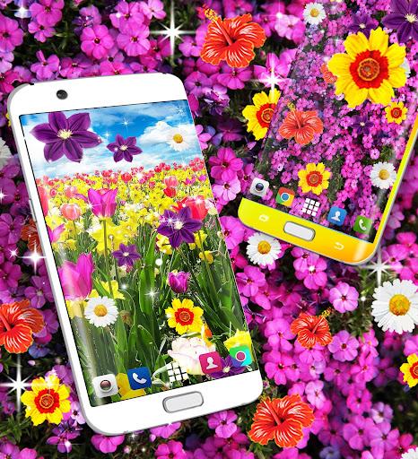 Flowers live wallpaper android2mod screenshots 8