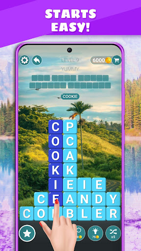 Word Cube - Word Search | Free Puzzle Casual Game 5.4 screenshots 1