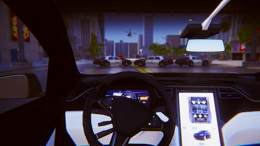 Electric Car Simulator: Tesla Driving 1.4 screenshots 12