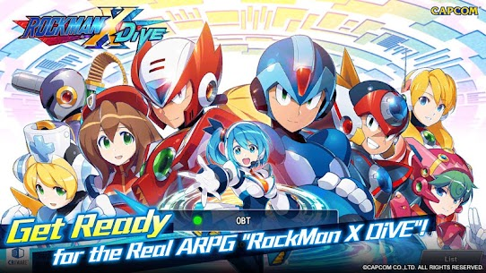 ROCKMAN X DiVE Mod 2.3.2 Apk [Unlimited Health] 1