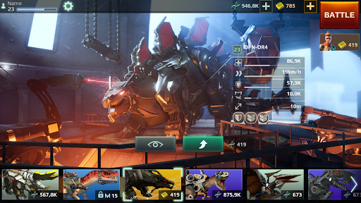 Jurassic Monster World: Dinosaur War 3D FPS modavailable screenshots 22