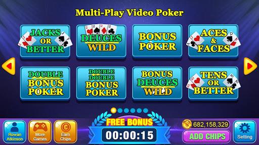 Video Poker Games - Multi Hand Video Poker Free 1.8.5 screenshots 1